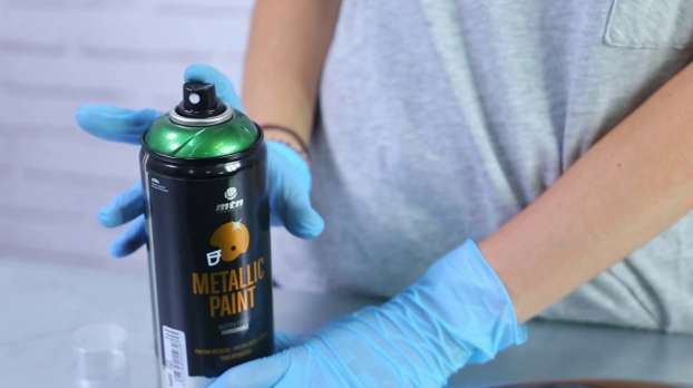 HOW TO PAINT a mudguard with MTN PRO Metallic Paint