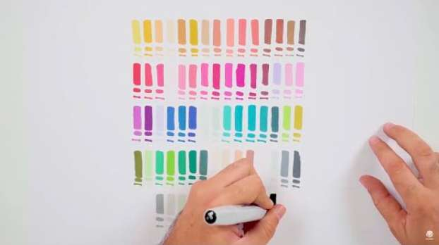 94 Graphic Markers 72 Colors